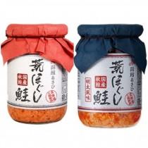 日本朝日函館荒鮭魚鬆/明太子鮭魚鬆110g