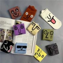 創意搞怪表情襪子十雙入