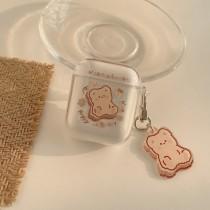 餅乾熊AirPods保護套(含掛飾)
