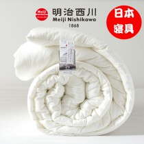 日本明治西川純棉空調被(夏被)150X200cm