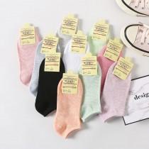 日系糖果短襪十雙入